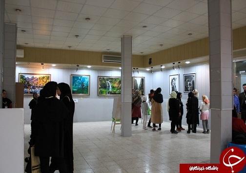 افتتاح نمایشگاه نقاشی و کارگاه باز باران در بهبهان