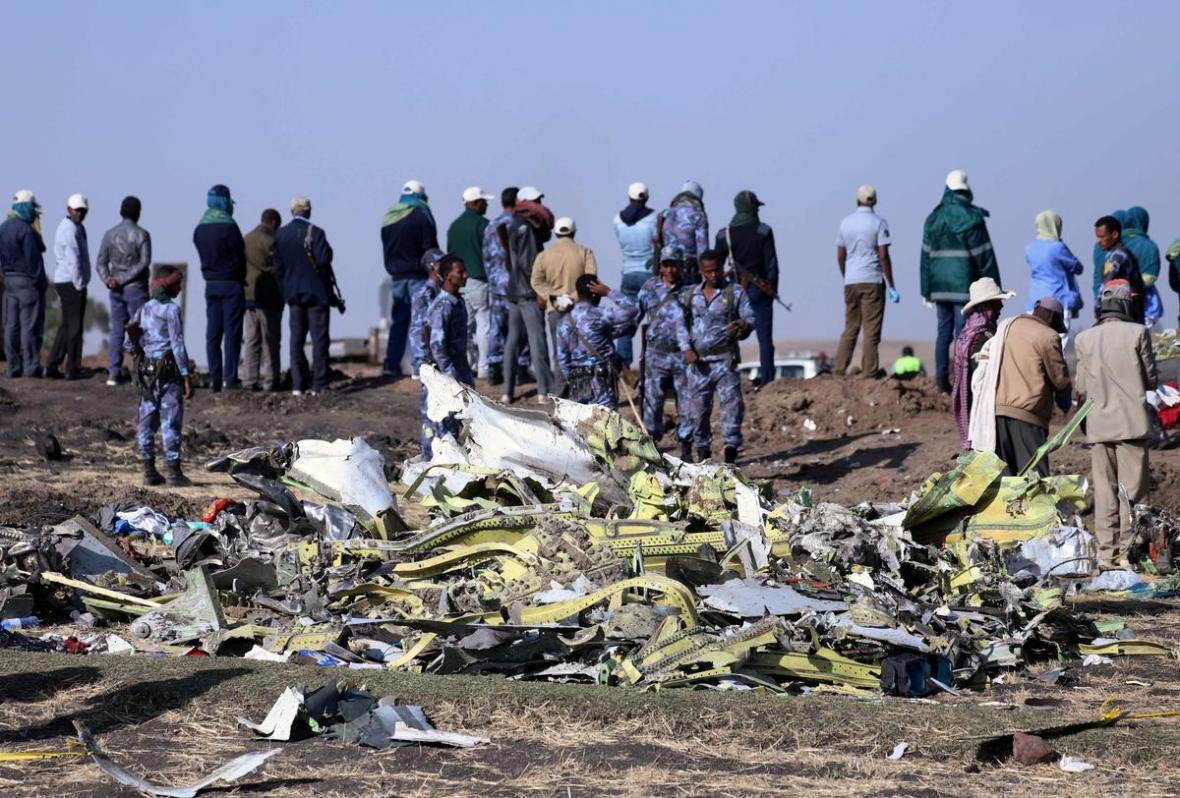 جعبه سیاه هواپیمای حادثه دیده اتیوپی کشف شد