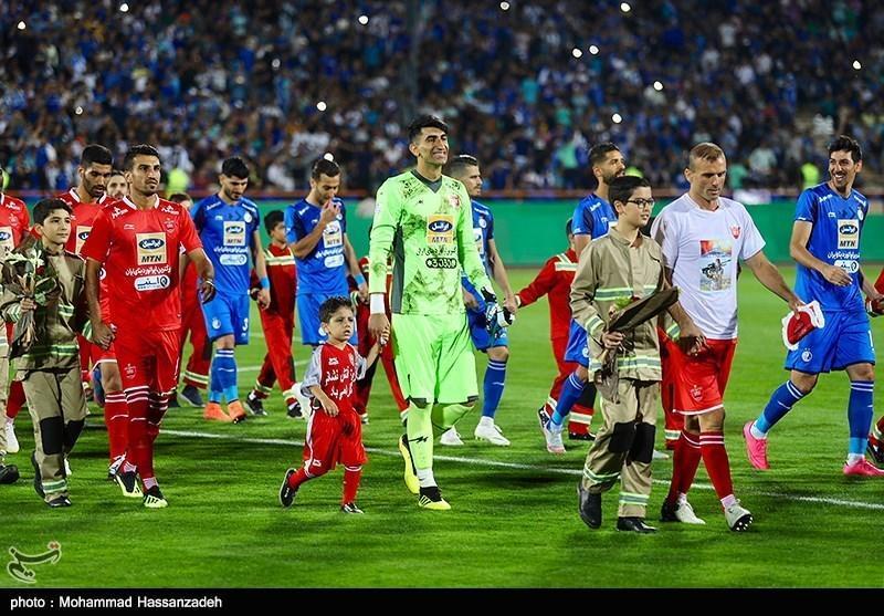 کارت های مکمل پوشش خبری و تصویری بازی پرسپولیس - استقلال شنبه توزیع می گردد