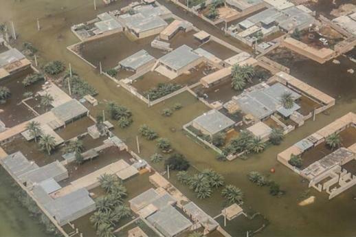 آخرین وضعیت شهرک شماره 2 اهواز پس از سیلاب