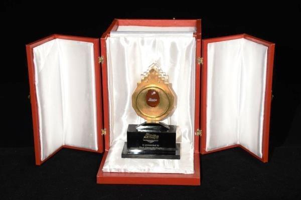 تقدیر از برگزیدگان سومین دوره جایزه مصطفی (ص) در آبان ماه