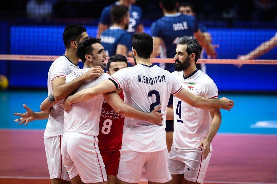 والیبال ایران آرژانتین را هم تسلیم کرد
