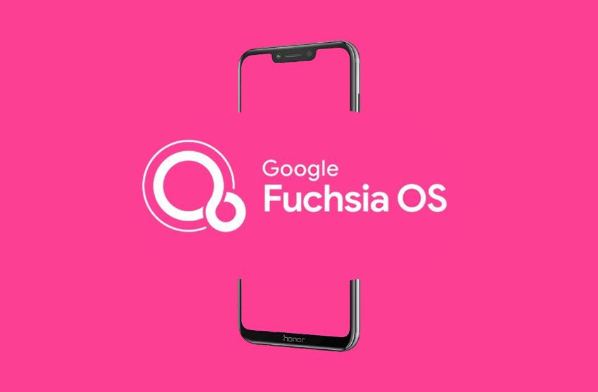 تاسیس سایت رسمی سیستم عامل Fuchsia، جانشین احتمالی اندروید