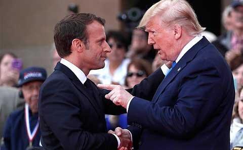 ترامپ، رودررو با اروپایی ها