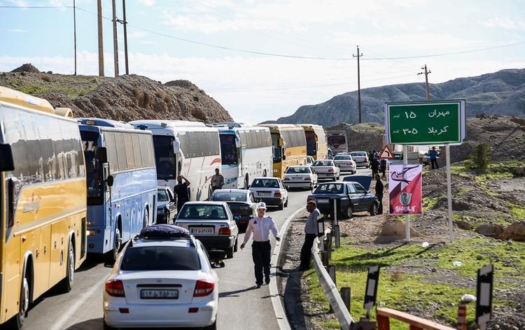 اتوبوس های اعزامی به سفر های اربعین از 8500 دستگاه فراتر رفت