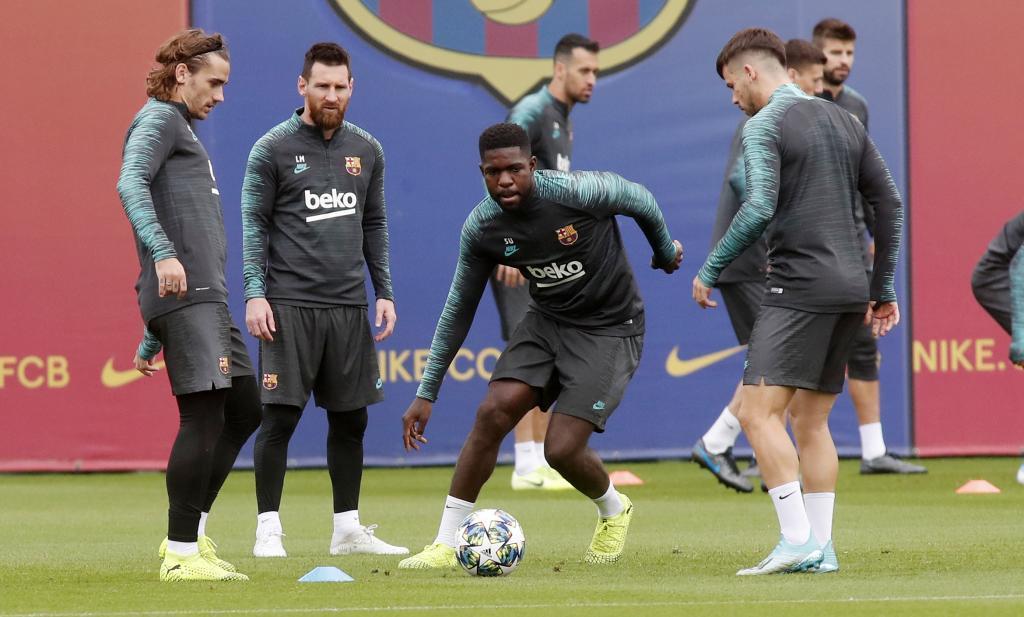 مدافع بارسلونا دوباره مصدوم شد