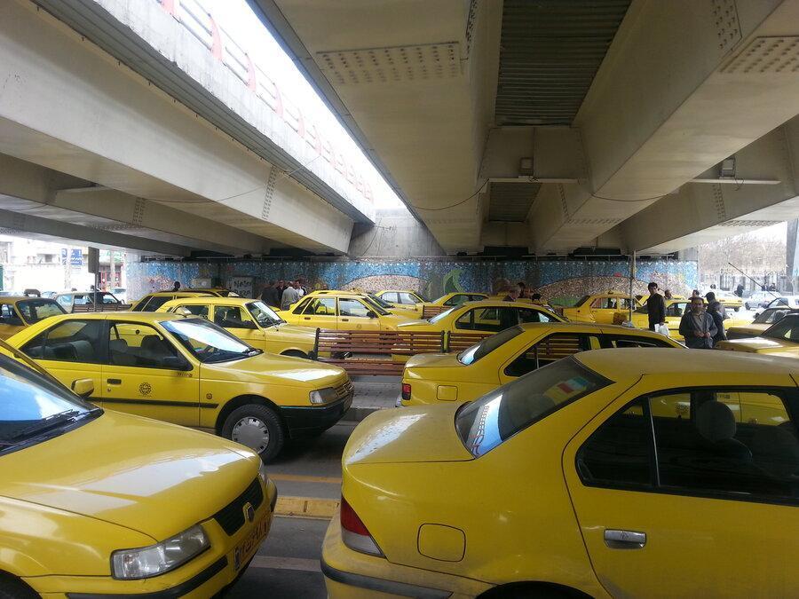 آمار ابتلای رانندگان تاکسی به کرونا در کل کشور ، 75 درصد مبتلایان در تهران