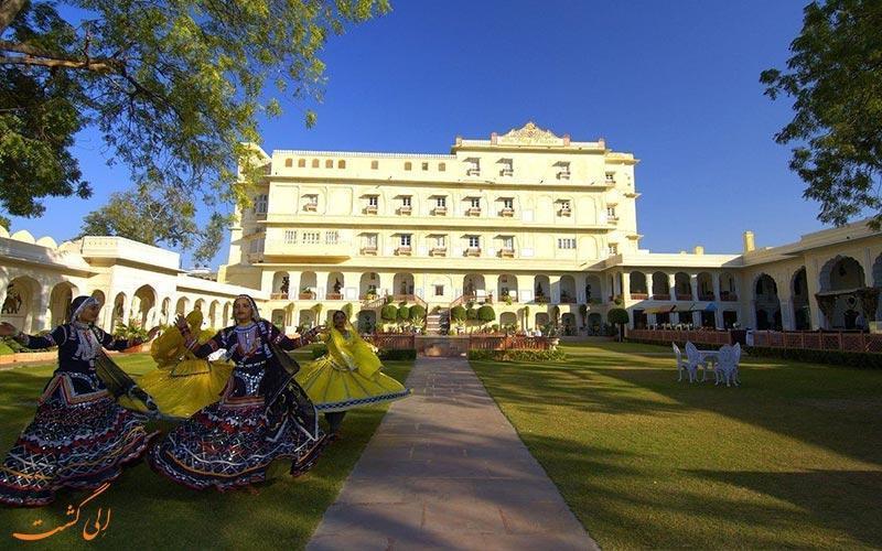 معرفی بهترین هتل های 5 ستاره جیپور